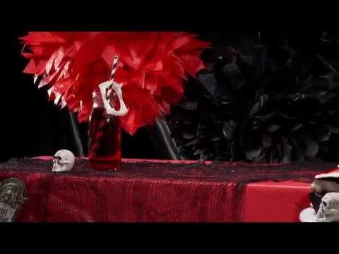 Blutige Cocktails zum Thema Vampir