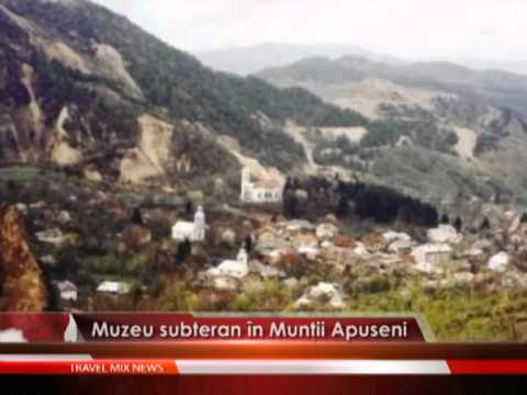 Muzeu subteran in Muntii Apuseni