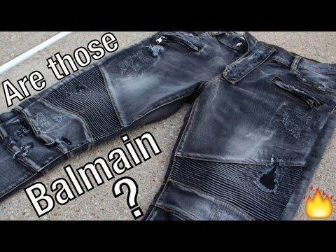 ARE THOSE BALMAIN JEANS?!? | Truth & Logic Jeans Unboxing | Review | On-Body Fit