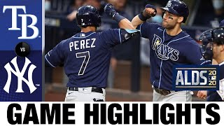 Randy Arozarena homers again, Rays take Game 3 | Rays-Yankees ALDS Game 3 Highlights