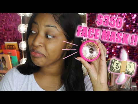 $350 FACE MASK?! IS IT WORTH THE COIN? | FOREO UFO REVIEW + DEMO