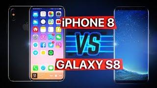 iPhone 8 против Galaxy S8: у кого лучше дизайн?
