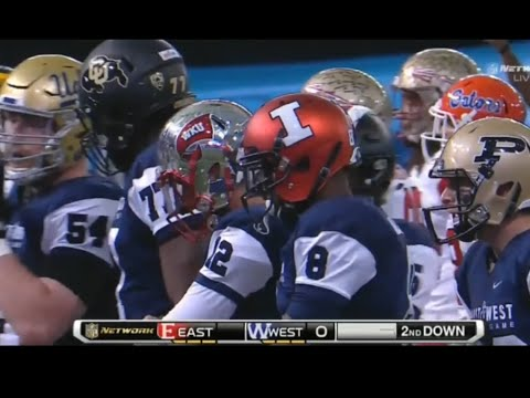 2016 College football All-star game East vs West Shrine Game