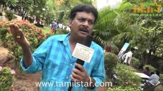 Azhagan Perumal at Nalanum Nandhiniyum Movie Press Show