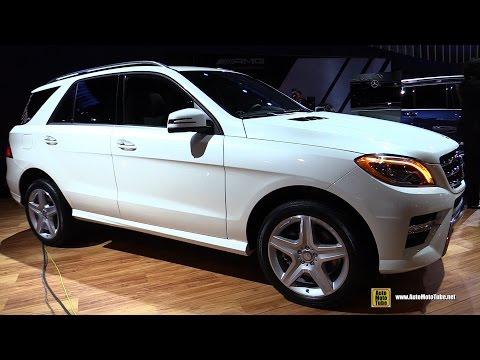2015 Mercedes-Benz ML-Class ML400 4-Matic - Exterior and Interior Walkaround - 2014 LA Auto Show