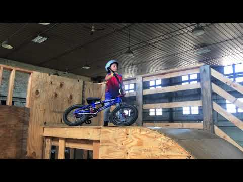 My buddies kid just set a world record! Youngest kid to land a backflip on a BMX bike at age 6!