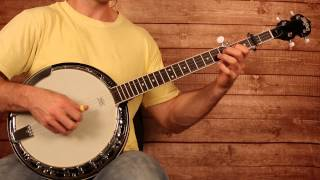 "Old Crow Medicine Show ""Wagon Wheel"" Banjo Lesson (With Tab)"