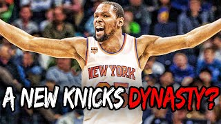 What If Kevin Durant LEAVES the Warriors.. A Knicks Dynasty?