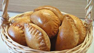 Пирожки из пресного теста с говядиной видео рецепт. Книга о вкусной и здоровой пище