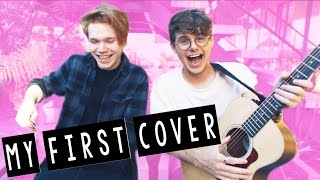 SO... THIS IS MY FIRST COVER (SINGING)
