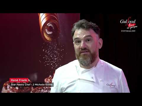 Michelin Star Pastry Chef, Rene Frank claims Gulfood to be a great kick-off for regular business