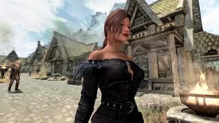 Skyrim Mod Showcase   Witcher 3 Female Light Armors by Zzjay
