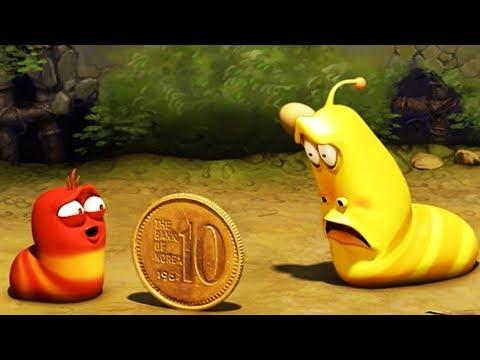 LARVA - COIN TOSS | Larva 2017 | Cartoons For Children | Larva Cartoon | LARVA Official