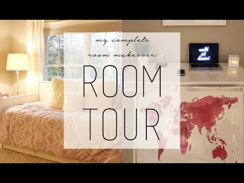 My Complete Room Makeover: Room Tour 2015