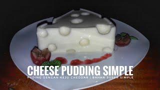 Cheese Pudding Simple | Puding Keju Lembut | Berbagi Resep