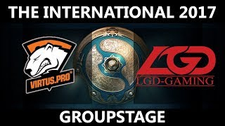 VP vs LGD GAME 1, The International 2017, LGD vs VP
