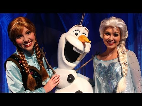 Anna and elsa to appear in my royal coronation event at walt video anna elsa and olaf frozen meet and greet at walt disney world m4hsunfo