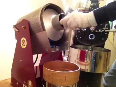 コーヒー焙煎 パプアニューギニア