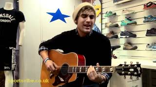 'Down Down Down' - Charlie Simpson [Acoustic] - Sportsvibe TV