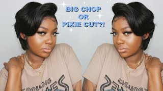Flawless $78 Pixie Cut Lace Wig Styled   OMGherhair