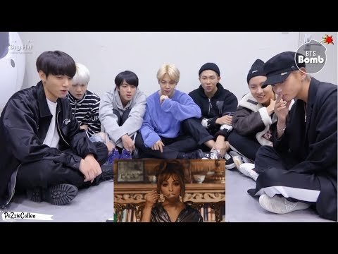 BTS reacting to Little Mix's 'Woman Like Me' MV