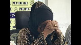 Woman breaks down as she narrates how Lamu Senator Anwar Loitiptip