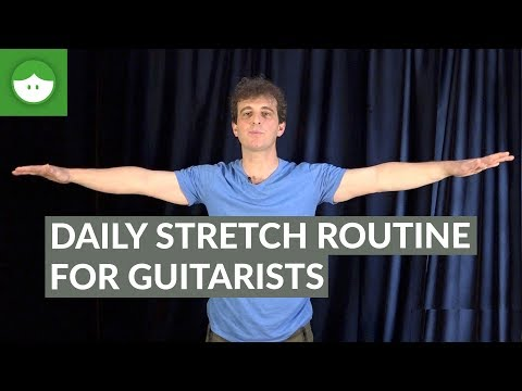 Daily Stretch Routine for Guitarists