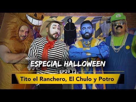 Especial Halloween con Tito El Ranchero, El Chulo y El Potro en Zona de Desmadre