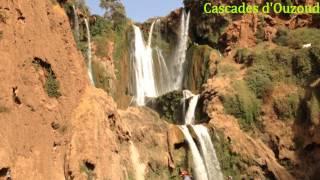 preview picture of video 'Cascades d'Ouzoud Prov Azilal - Maroc Vacance 2014 HD شلالات أوزود إقليم أزيلال المغرب'
