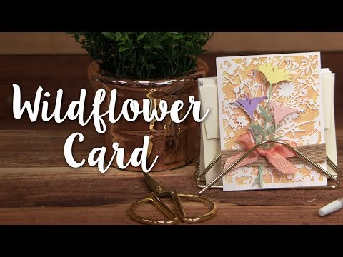Springtime DIY: How to Make a Wildflower Card!