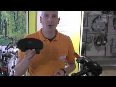 Lenkertasche mit Aktiv-Lautsprecher für MP3-Player und Handy