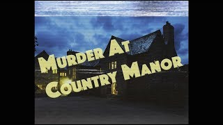 New Cheesebite! Murder At Country Manor