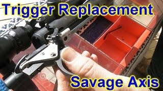 Savage Axis trigger replacement