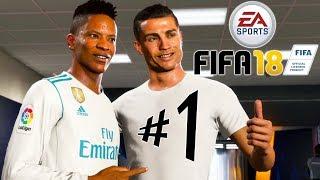 FIFA 18 A Jornada - Parte 1: A Pré-Temporada de Alex Hunter!!! [ PS4 Pro - Playthrough ]