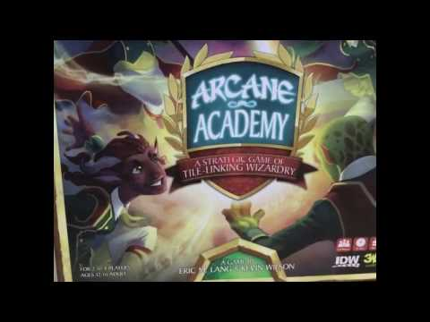 Arcane Academy - Board Game Spotlight - Overview