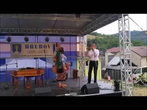 Deň obce Hrubov - Cimbalová hudba Milana Rendoša, Jožko Jožka