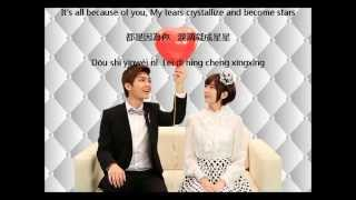 Freya Lim & Alex To – Because of you (JUST YOU OST) LYRICS