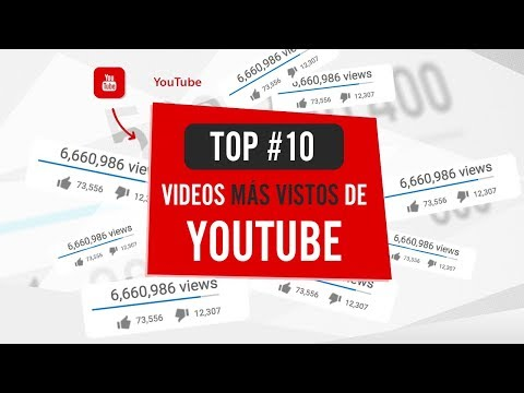 🔝 10 VIDEOS MAS VISTOS DE YOUTUBE DE LA HISTORIA 2017
