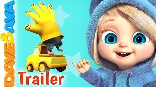 👍Where is Thumbkin? – Trailer | Nursery Rhymes and Baby Songs from Dave and Ava 👍