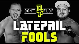 The Late Latepril Fools Line-Up [Advert]