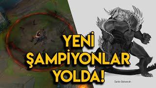 LoL : YENİ ŞAMPİYON YOL HARİTASI | 2 Yeni Şampiyon - Fiddle & Voli Rework