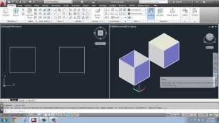 AutoCAD - 3D Modeling Basics #5 - Extruding: Solid vs. Surface - Brooke Godfrey