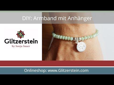 DIY Anleitung: Armband mit Anhänger