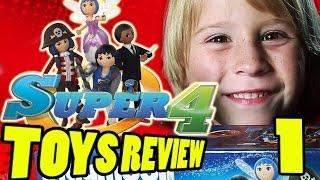 Super 4 Toys: TOP SECRET visit INSIDE Playmobil Factory & Super4 Chameleon! | Beau's Toy Farm | Kholo.pk