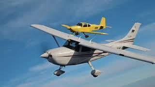 Flyoff Cessna 182 vs. Vans RV-10