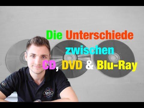 Was sind die Unterschiede zwischen CDs, DVDs und Blu-Rays? | Der Physiklehrer