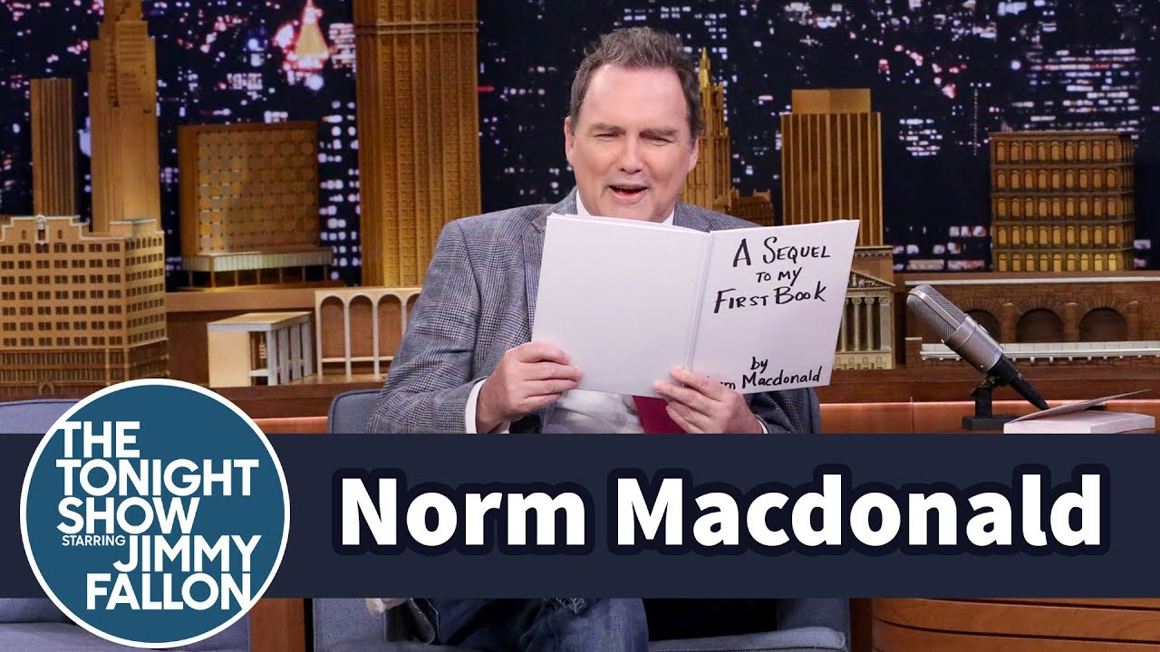 Norm Macdonald Reads an Excerpt from His Unreleased Book Sequel thumbnail