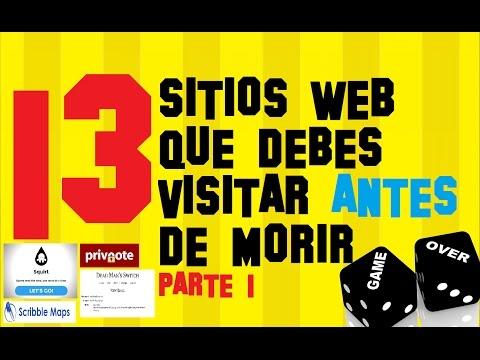 🌟13 Páginas Web que Debes Visitar (MUY UTILES) y se van seguro a tus FAVORITOS - PARTE 1