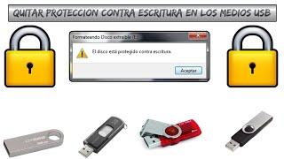 Solucionar Problema De Proteccion Contra Escritura En Los Medios USB 2016