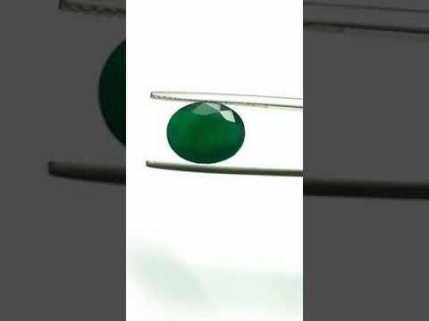 Natural Emerald Oval 5.57 Carats